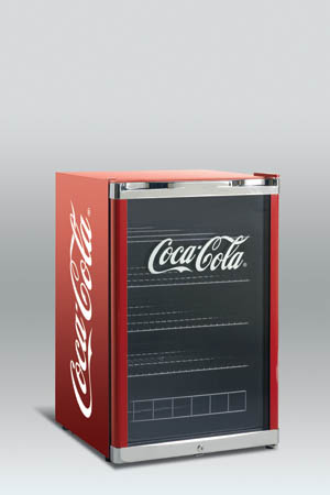 Scandomestic High Cube - Coca cola mini køleskab